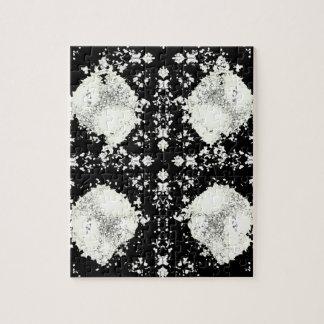 Puzzle de lumières blanches
