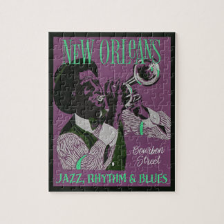 Puzzle de musique de la Nouvelle-Orléans