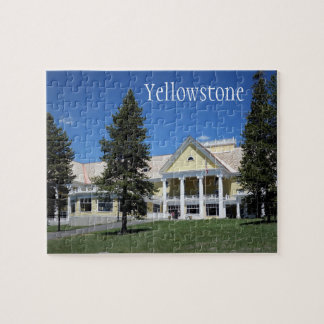 Puzzle de parc national de Yellowstone