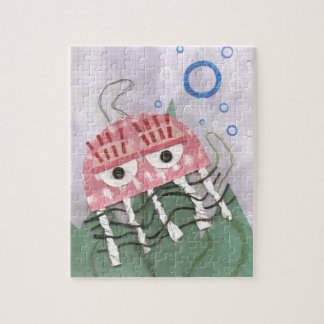 Puzzle de peigne de méduses