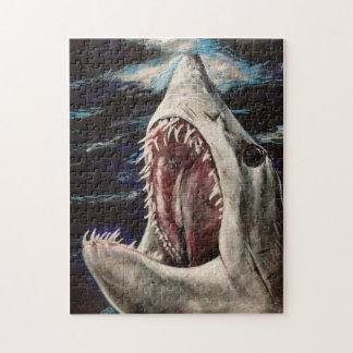 Puzzle de peinture de requin de Mako