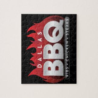 Puzzle de photo de BBQ 8x10 de Dallas avec la