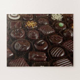 Puzzle de photo de bonbons au chocolat