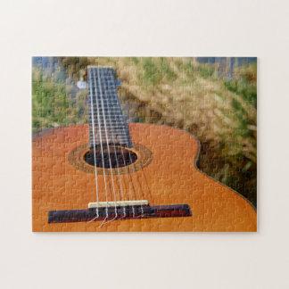 Puzzle de photo de guitare/instrument de musique