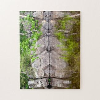 Puzzle de photo de réflexions de rivière