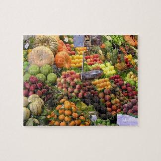 Puzzle de photo du marché d'agriculteurs, 110