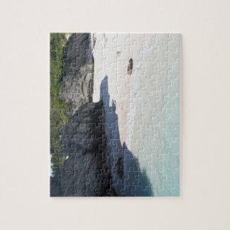 Puzzle de plage et de falaises