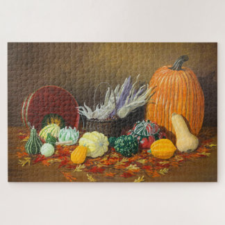 """Puzzle """"De saison"""" une célébration d'automne"""
