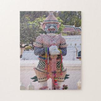 puzzle de vacances de paysage de l'Asie, Thaïlande