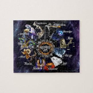 Puzzle de zodiaque