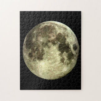 Puzzle denteux de pleine lune