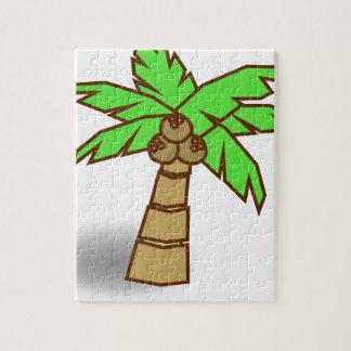 Puzzle Dessin de palmier