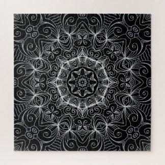 Puzzle dessinant le Groupe des Dix floral de