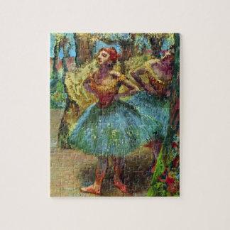 Puzzle Deux danseurs par Edgar Degas, art vintage de
