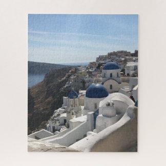 Puzzle d'îles de la Grèce