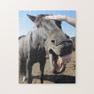Puzzle Directement de la bouche du cheval