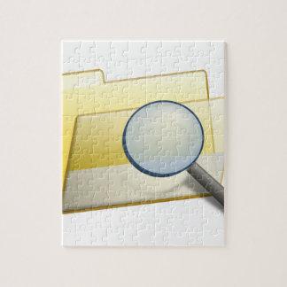 Puzzle Dossiers cachés