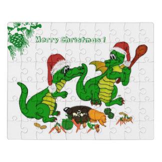 Puzzle Dragons - Joyeux Noël ! Aujourd'hui je ferai cuire
