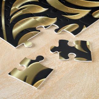Puzzle - drame en noir et or