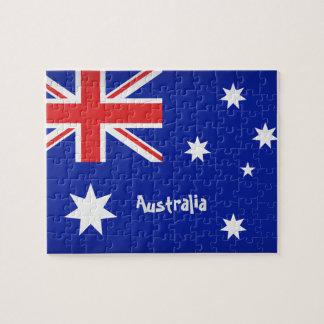 Puzzle Drapeau australien