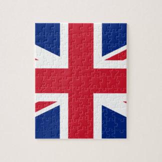 """Puzzle Drapeau BRITANNIQUE """"Union Jack """" du Royaume-Uni"""