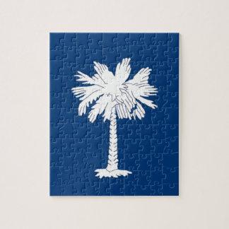 Puzzle Drapeau de la Caroline du Sud