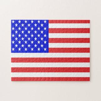Puzzle Drapeau des Etats-Unis