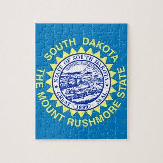 Puzzle Drapeau du Dakota du Sud