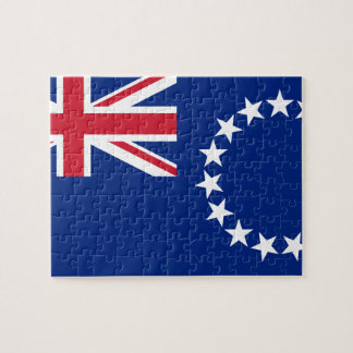 Puzzle Drapeau national du monde de Cook_Islands