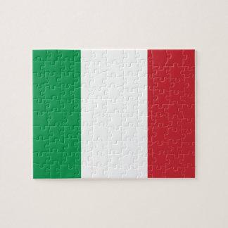 Puzzle Drapeau national du monde de l'Italie
