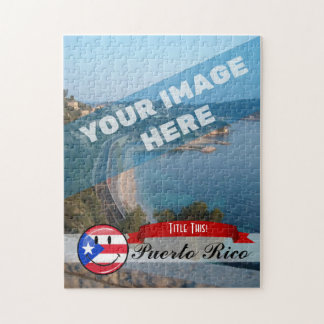 Puzzle Drapeau portoricain de sourire