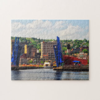 Puzzle Duluth Minnesota, solides solubles William un