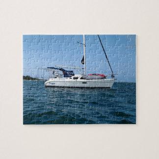 Puzzle d'un Starjewel le voilier à l'ancre