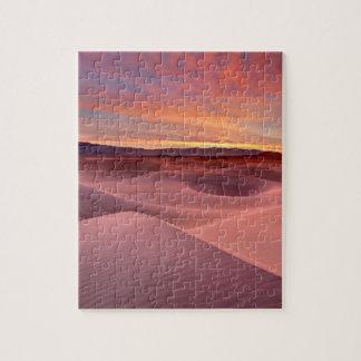 Puzzle Dunes de sable roses, Death Valley, CA