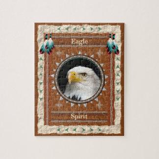 Puzzle Eagle - casse-tête d'esprit avec la boîte-cadeau