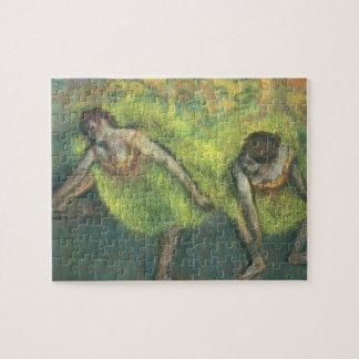 Puzzle Edgar Degas | détente de deux danseurs