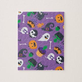Puzzle éffrayant mignon superbe de Halloween