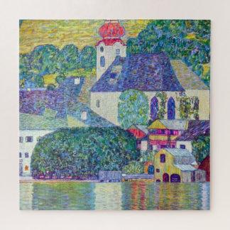 Puzzle Église de St Wolfgang par Gustav Klimt, art