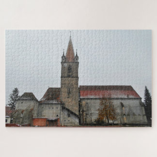 Puzzle Église médiévale de forteresse