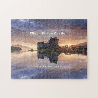 Puzzle Eilean Donan - clans du Mackenzie/MacRae