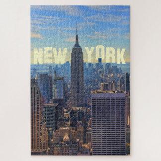 Puzzle Empire State Building d'horizon de NYC, commerce