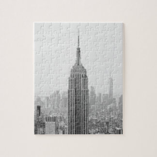 Puzzle Empire State Building noir et blanc Manhattan