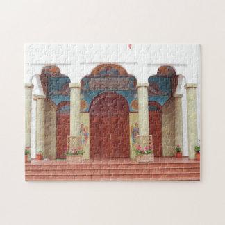 Puzzle Entrée orthodoxe de cathédrale