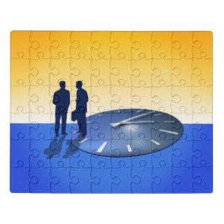 Puzzle Entretien d'affaires