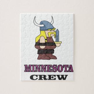 Puzzle Équipage du Minnesota