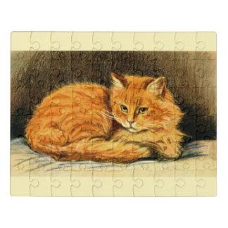 Puzzle Esprit le chat de gingembre