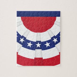 Puzzle Étamine de drapeau américain