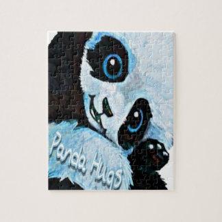 Puzzle Étreintes de panda