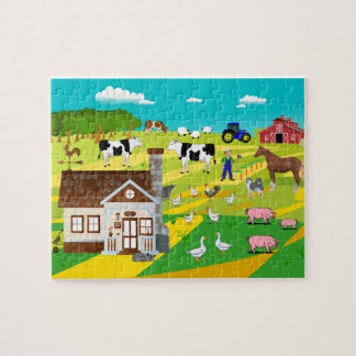 "Puzzle «EXPLOITATION AGRICOLE """