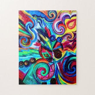 Puzzle Explosion de couleur